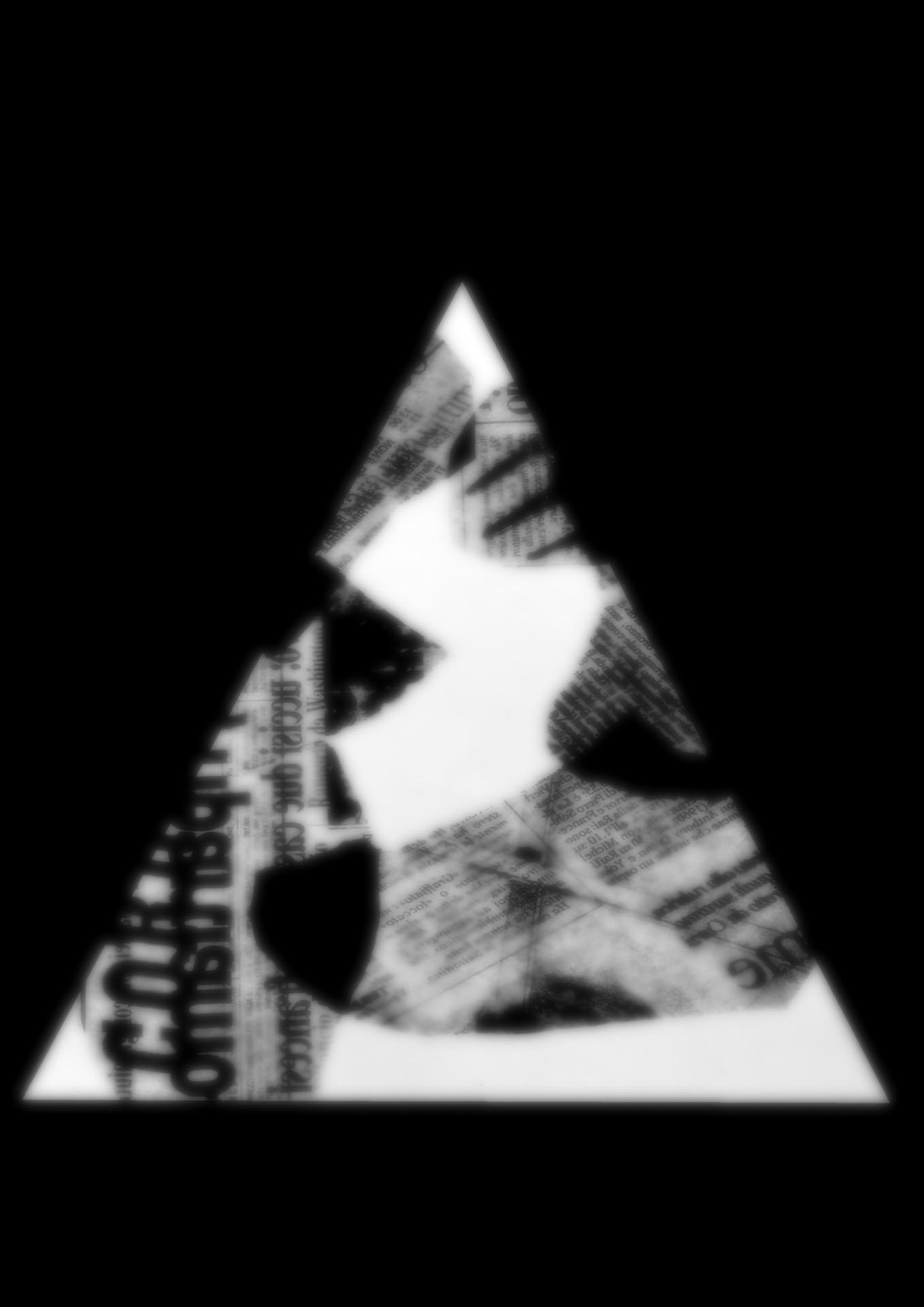 Schadography,2018- Triangle Composition n°3 Workshop ,2001-'02